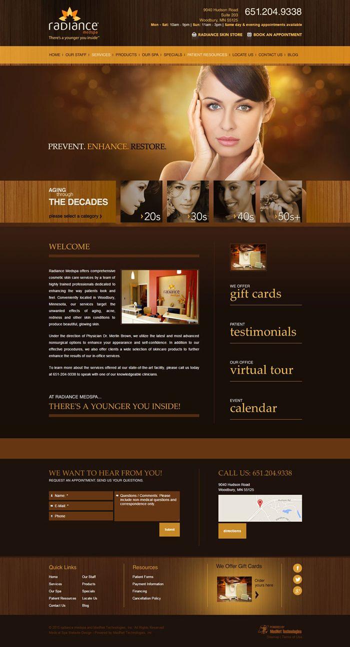 23 Best Spa Beauty Salon Websites Inspiration Designyep Beauty Salon Websites Beauty Website Best Spa