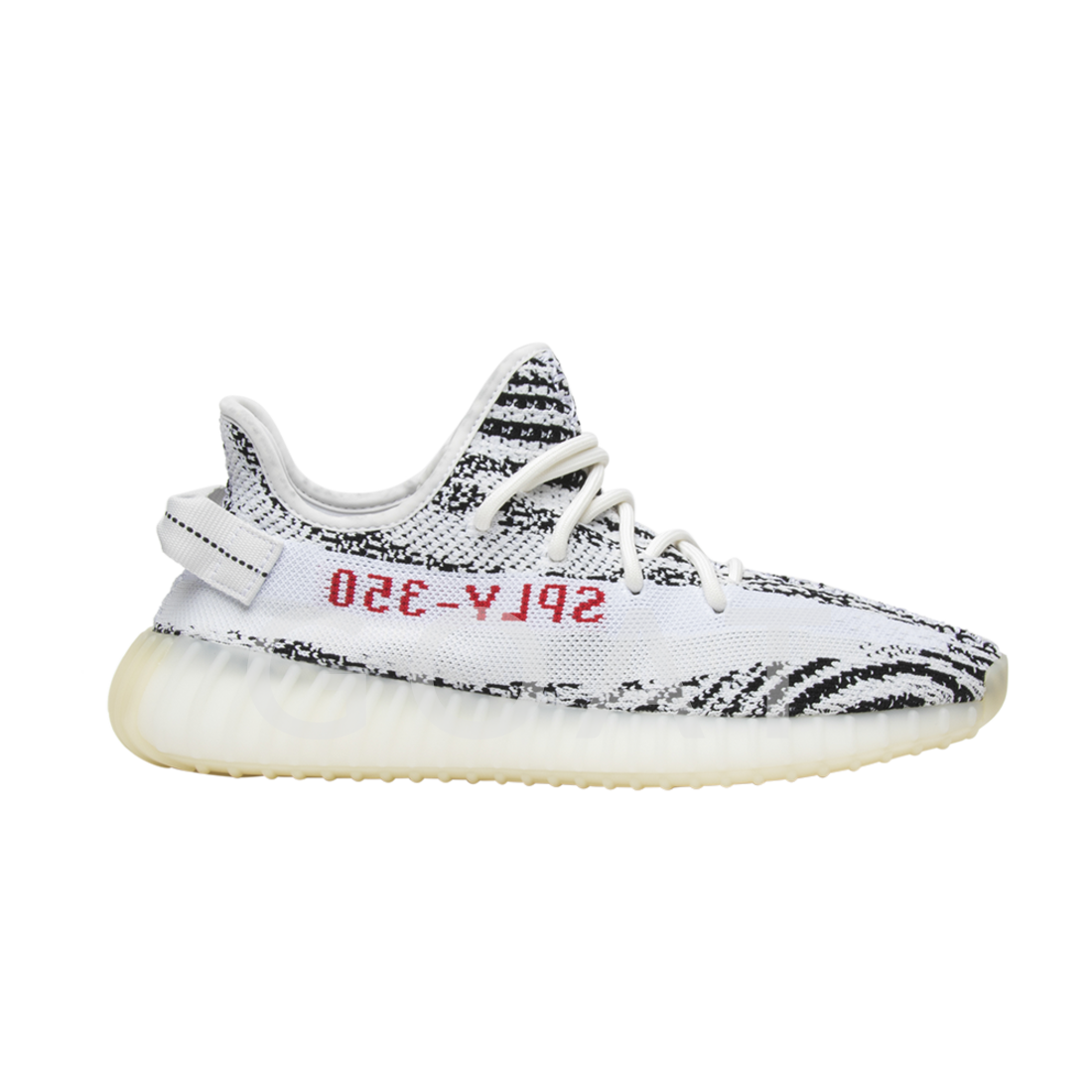 2c7b974d571 Yeezy Boost 350 V2  Zebra  - Adidas - CP9654 - white core black red