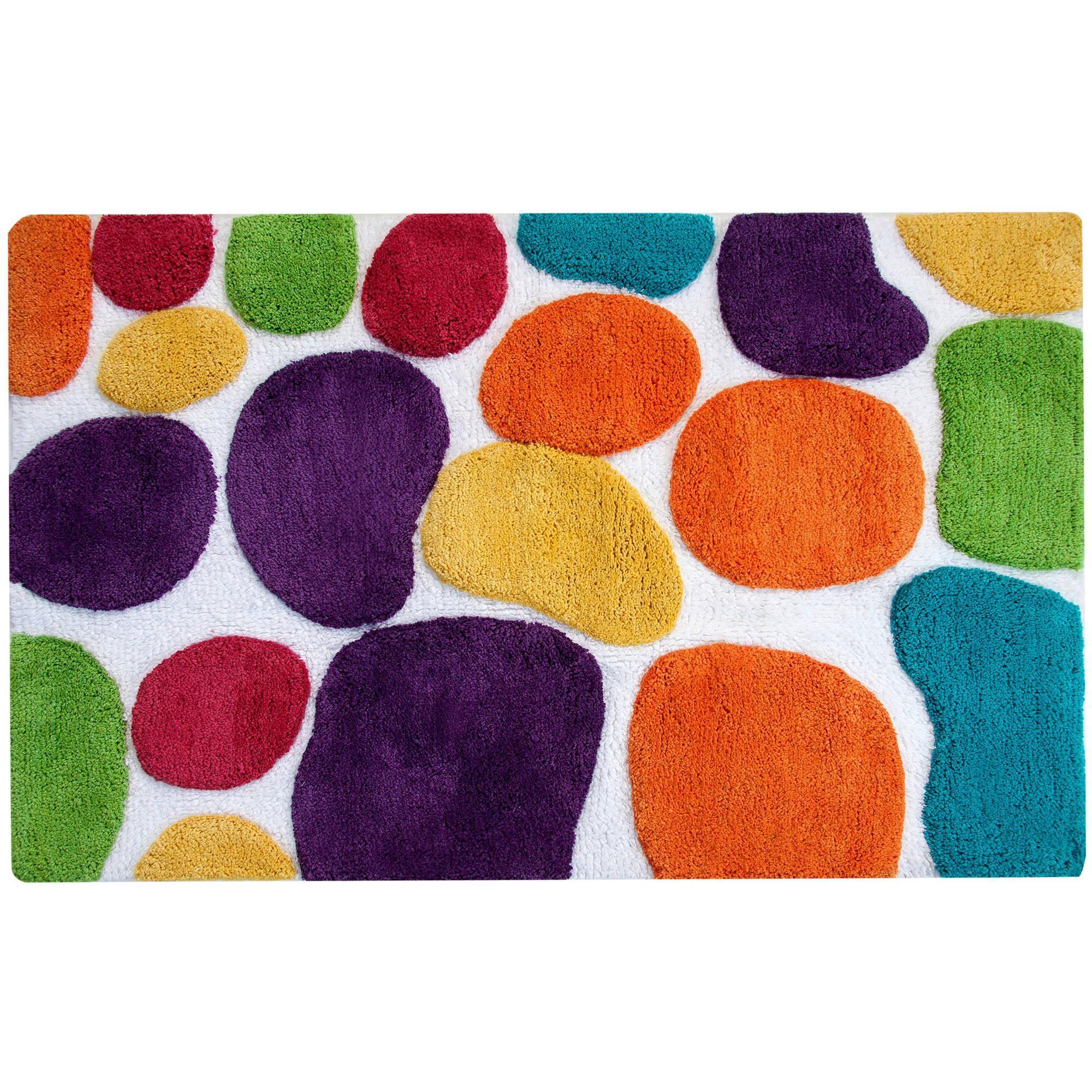 Chesapeake Pebbles Brights Multi Coloured Bath Runner 24 X 36 Walmart Com Colorful Bath Bath Runner Pattern Bath Rugs [ 2000 x 2000 Pixel ]