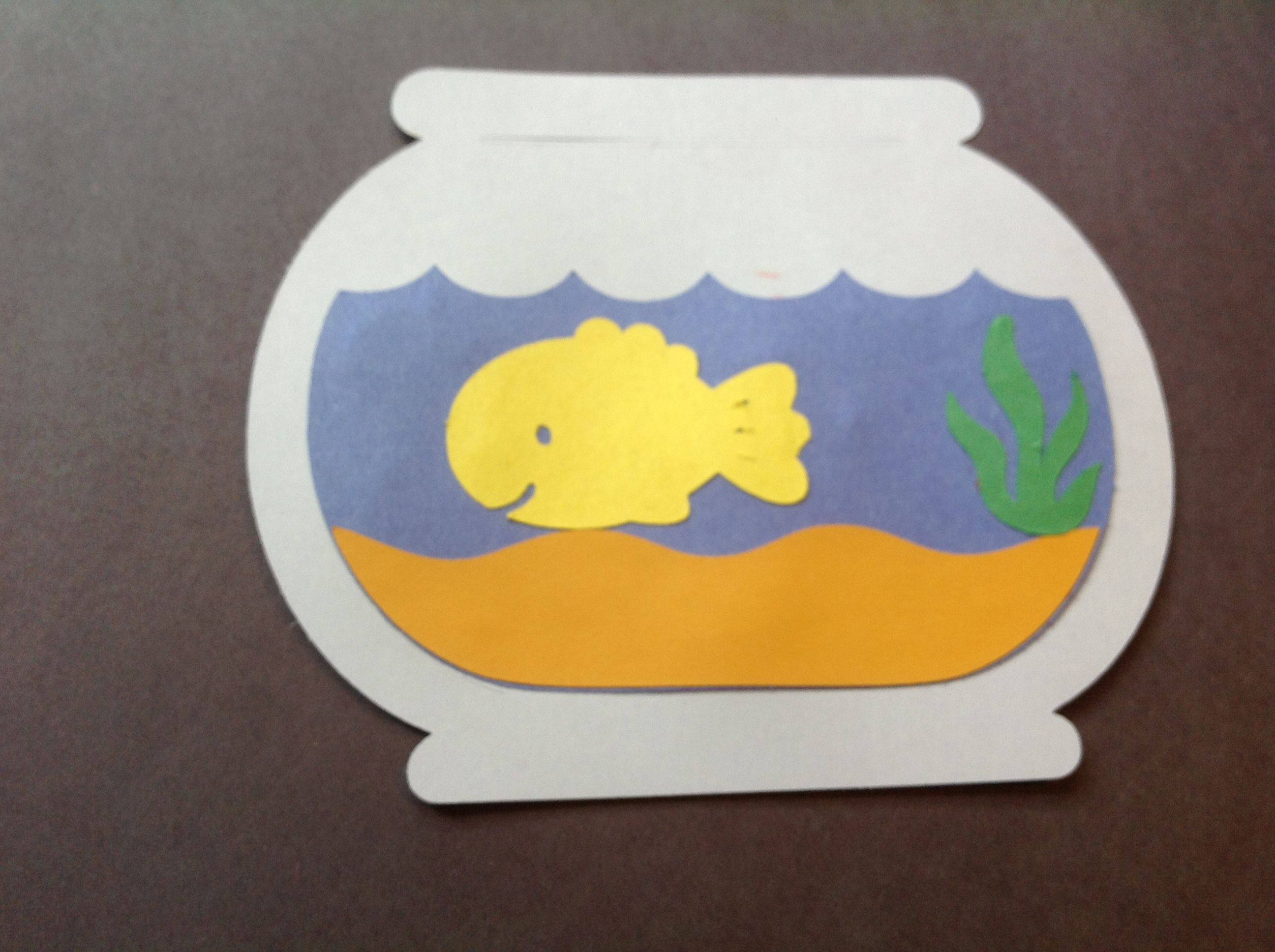 Fish bowl...... Preschool arts & crafts facebook ...