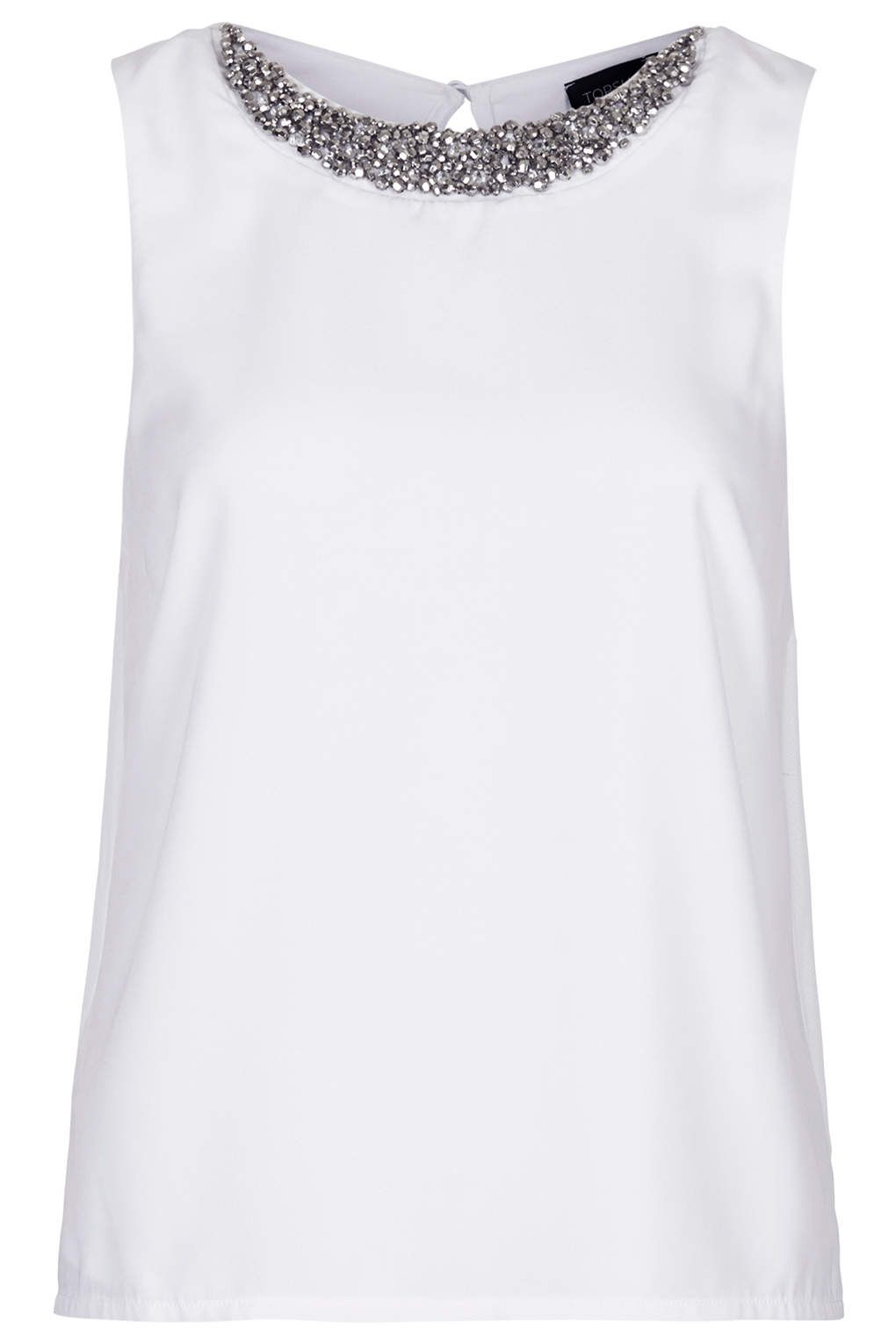 Necklace Shell Top - Tops - Clothing - Topshop