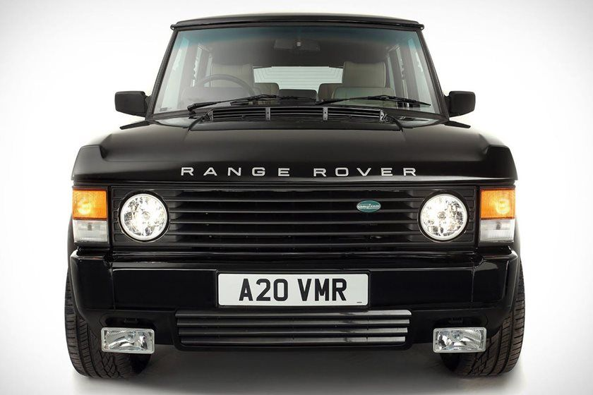 Range Rover Restomod Packs Supercharged Cadillac V8