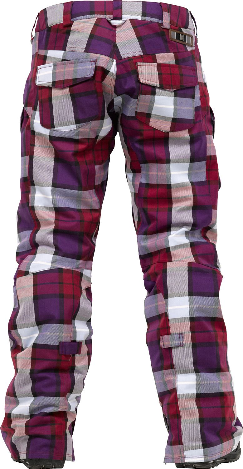 Burton Fly Snowboard Pants Garnet Estate Plaid | Looking forward ...