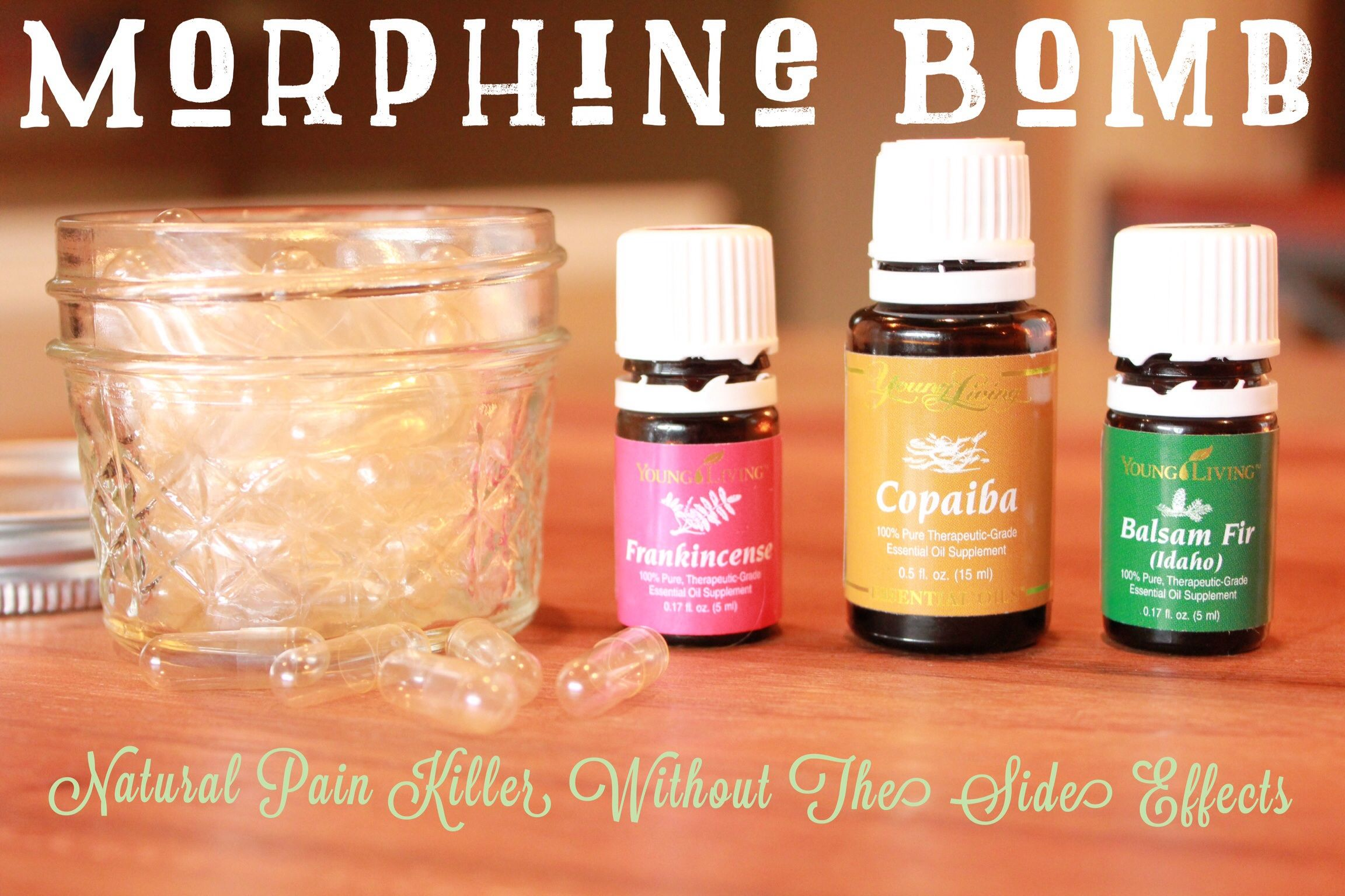 Morphine Bomb Natural Pain Relief Essential Oils