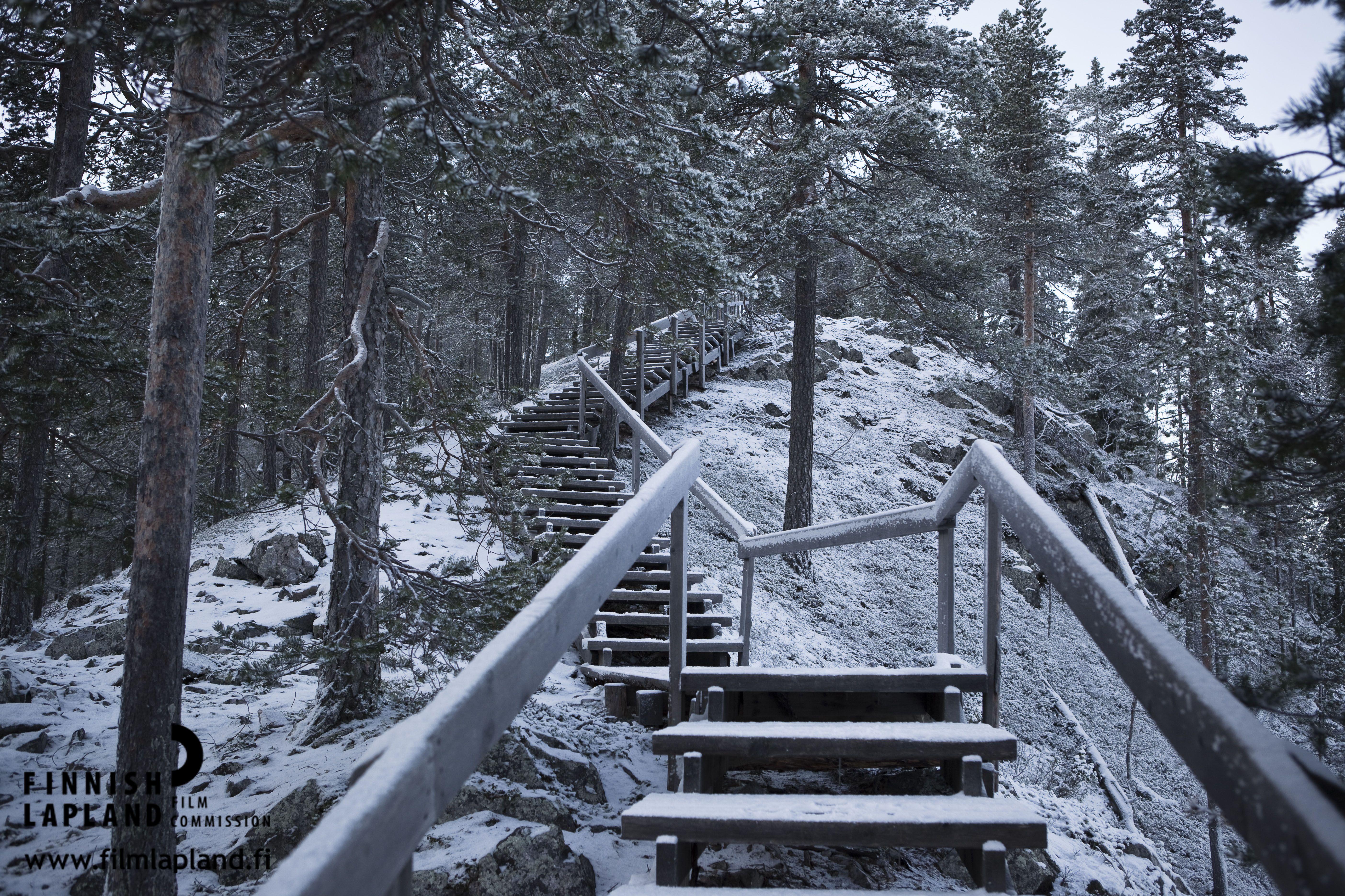 First snow at autumn in Pyhä fell, Finnish Lapland. Photo by Jani Kärppä/ Lappikuva. #filmlapland #arcticshooting #finlandlapland
