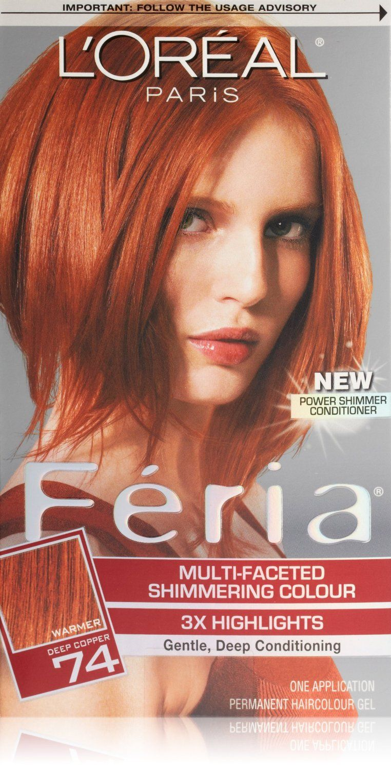 Amazon Loreal Paris Feria 74 Deep Coppercopper Shimmer