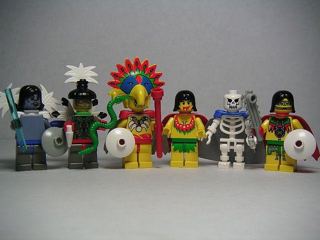 Lego - Aztec Gods by Dunechaser, via Flickr
