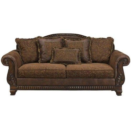 Bradington Truffle Truffle Sofa By Ashley Furniture