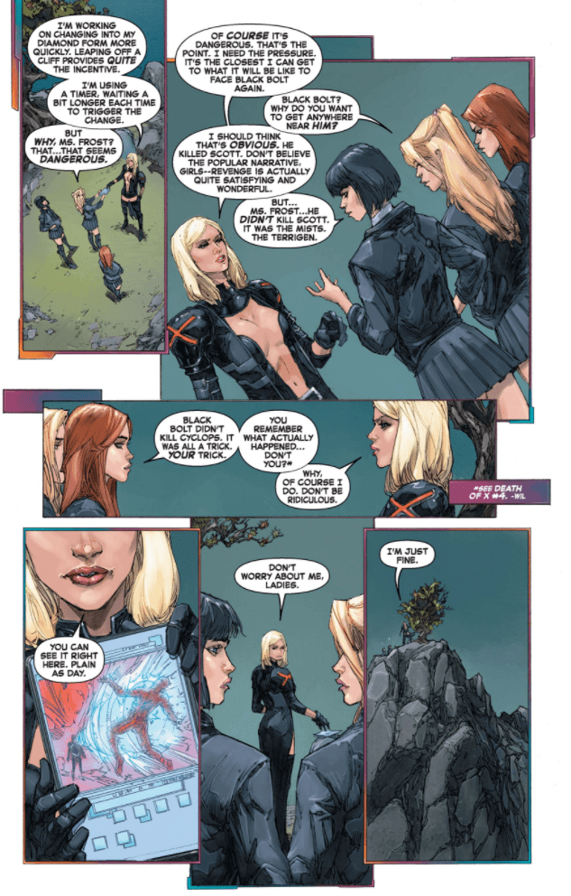 Entry 081 The Stepford Cuckoos Xavier Files Stepford X Men Comics