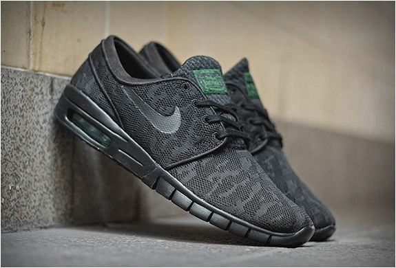 premium selection f7241 49f4e The new Nike SB Stefan Janoski Max are now available for purchase. The  hybrid sneaker is available in a few colorways but our favorite is the Black  ...