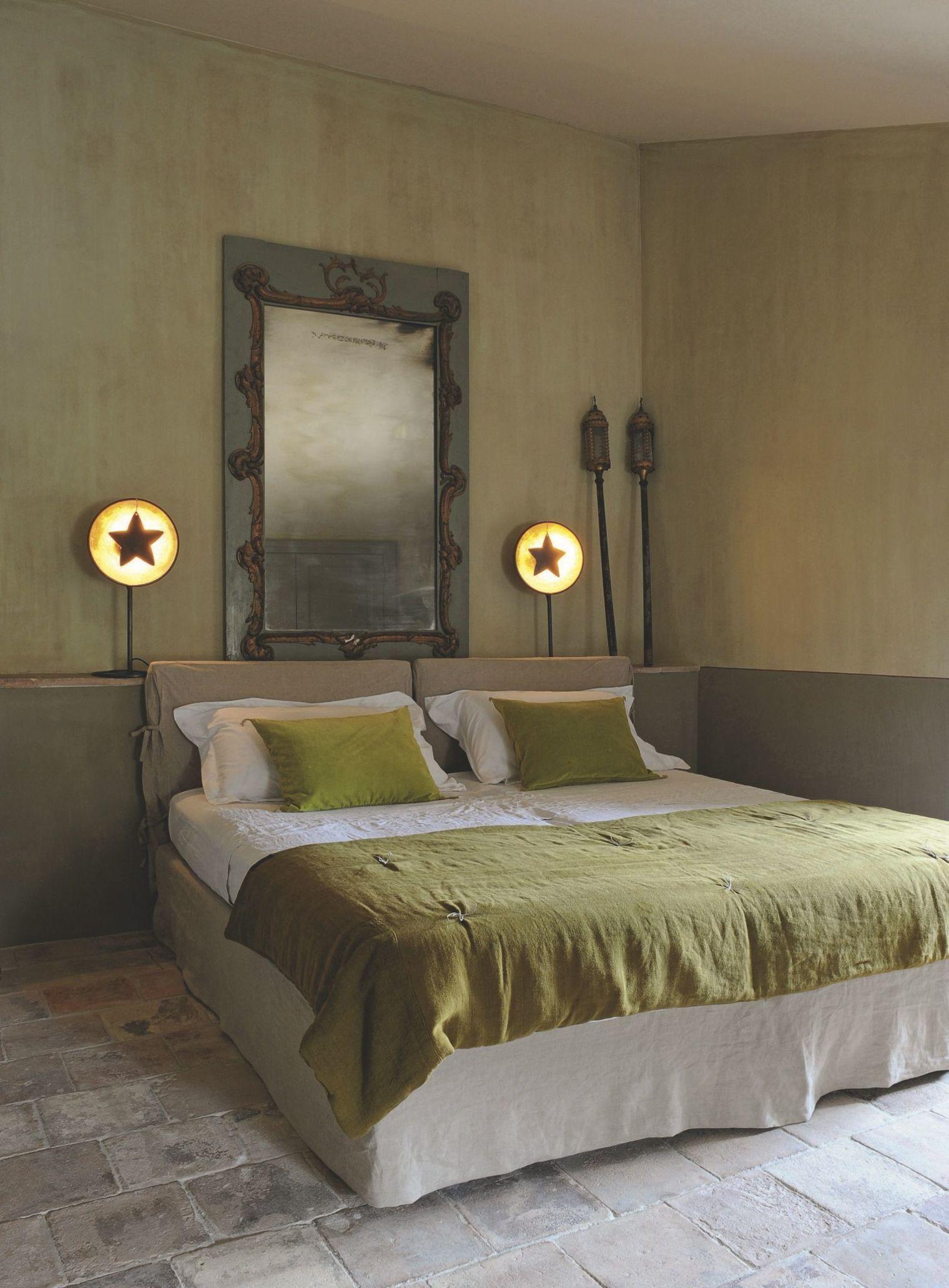 Chambre Provencale Idee Deco déco en provence : maison traditionnelle en pierre | idée