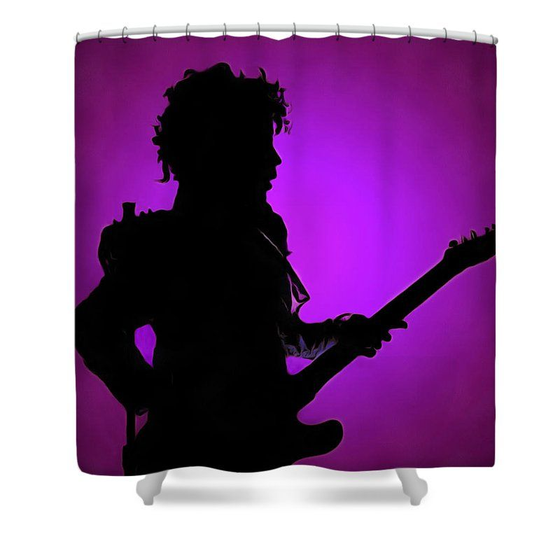 Prince Rogers Nelson Shower Curtain Featuring The Photograph