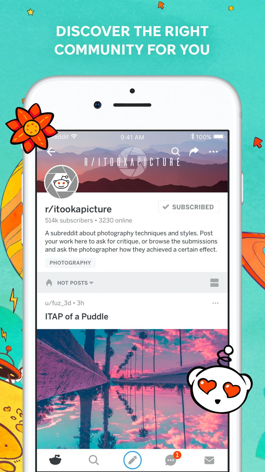 Reddit Trending News NetworkingSocialappsios (With