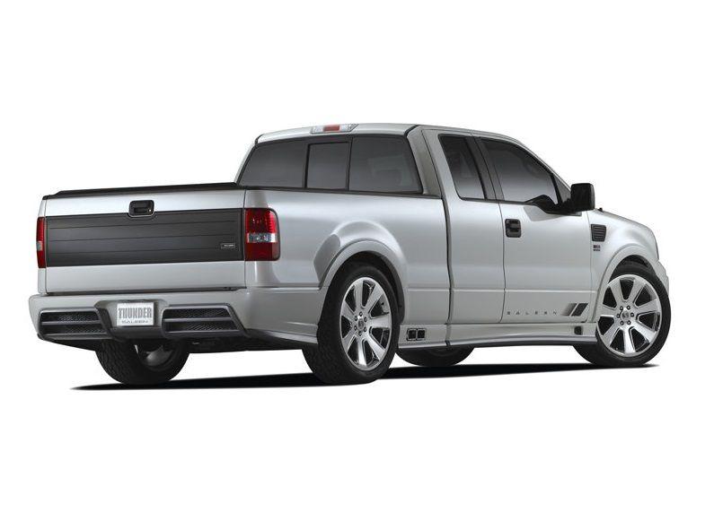 Saleen Sport Truck Back View Autonewcars Com
