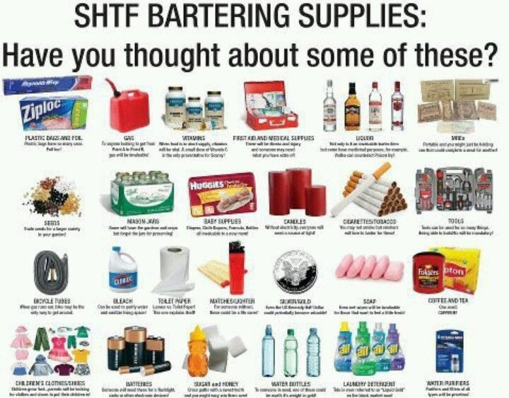 Shtf Emergency Preparedness: 40 Items To Barter In A Post-Collapse World
