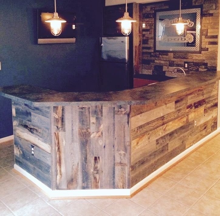 Facebook Bars For Home Finishing Basement Reclaimed