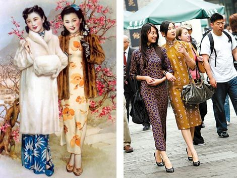 Histoire Des Cheongsams Qipao De Shanghai