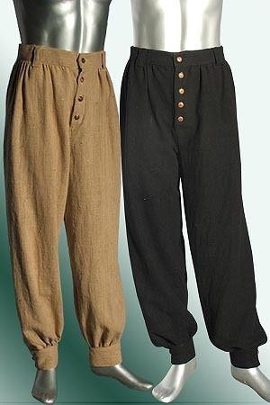 Renaissance Pants or Breeches Handmade from Brocade