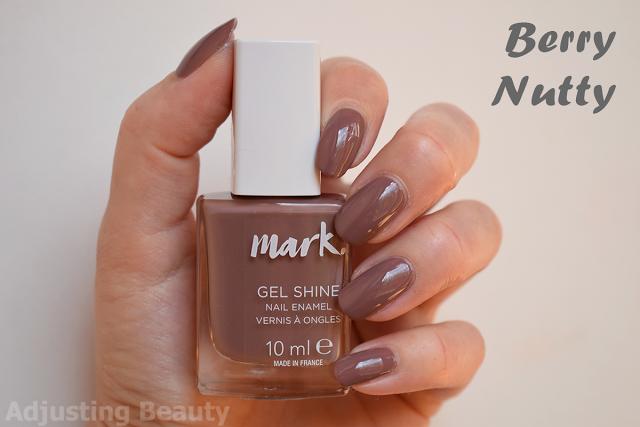 Review Of Avon Mark Gel Shine Nail Enamel Berry Nutty Shine Nails Nails Nail Polish