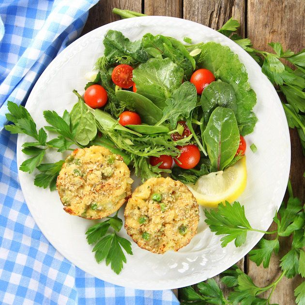 30 Easy Shrimp Recipes For Weeknight Dinners: Healthy Tuna Casserole Muffins Image