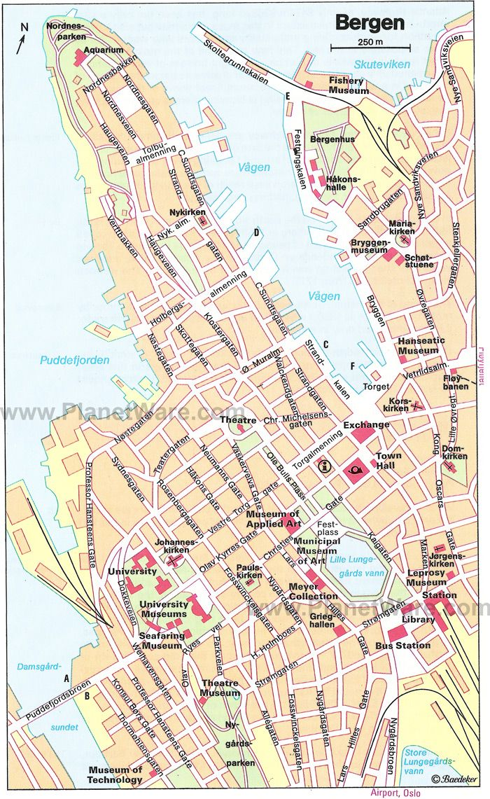 Bergen Norway Map The Great Outdoors Pinterest Norway Map - Norway map railway