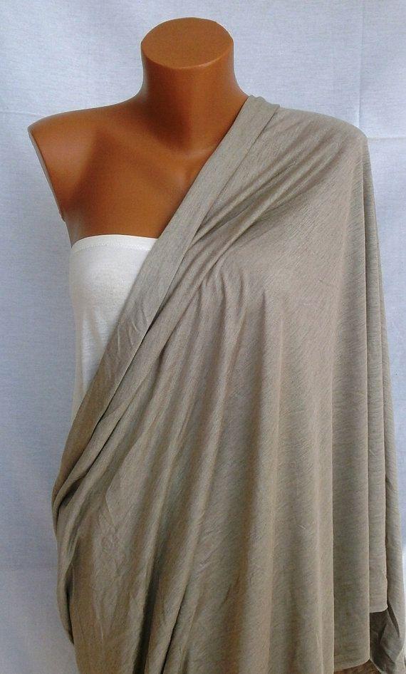 Cotton Nursing scarf Nursing cover up Breastfeeding scarf ...
