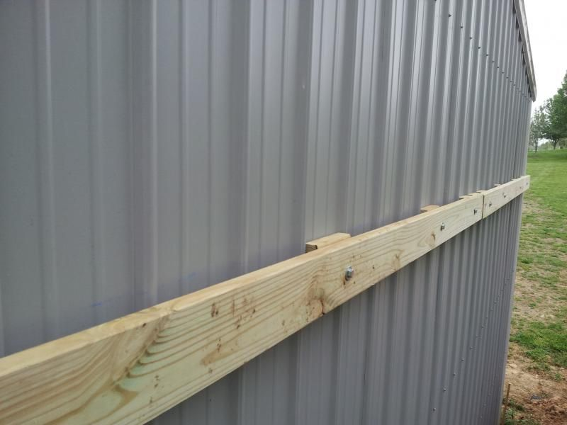 Attaching A Lean To To My Shop Page 2 Pirate4x4 Com 4x4 And Off Road Forum Lean To Diy Pole Barn Lean To Roof