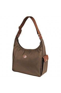 Longchamp LE PLIAGE Hobo Bag In Taupe - Longchamp Hobo Bags | Hobo ...
