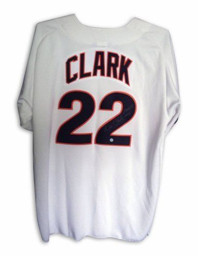 the best attitude 9f3c9 110ef Will Clark San Francisco Giants Autographed Jersey Inscribed ...