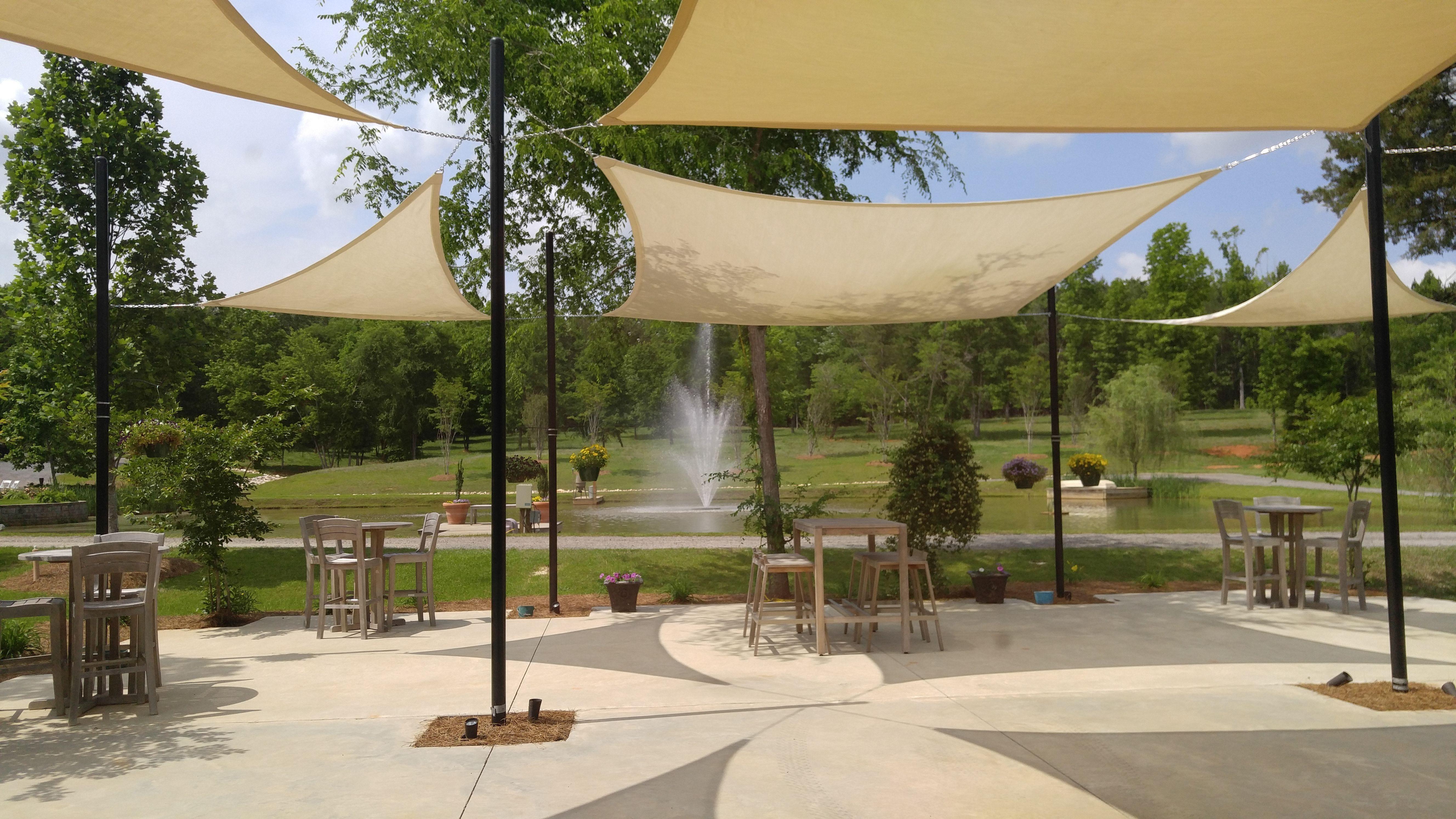 Rock Bottom Pond And Fountain Ridgeway Sc Wedding Reception
