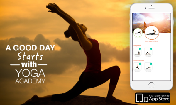 Yoga Academy App Yoga routine, Yoga, App