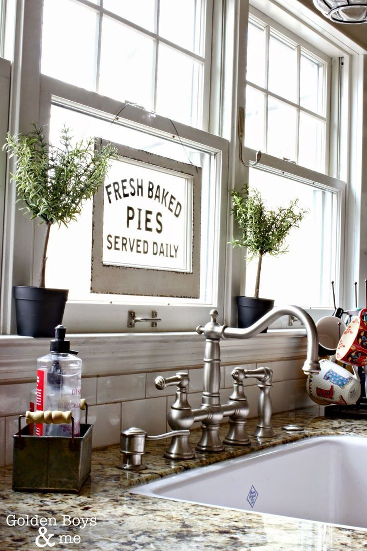 Winter & Valentine\'s Day Decor in the Kitchen | Faucet, Sinks and ...