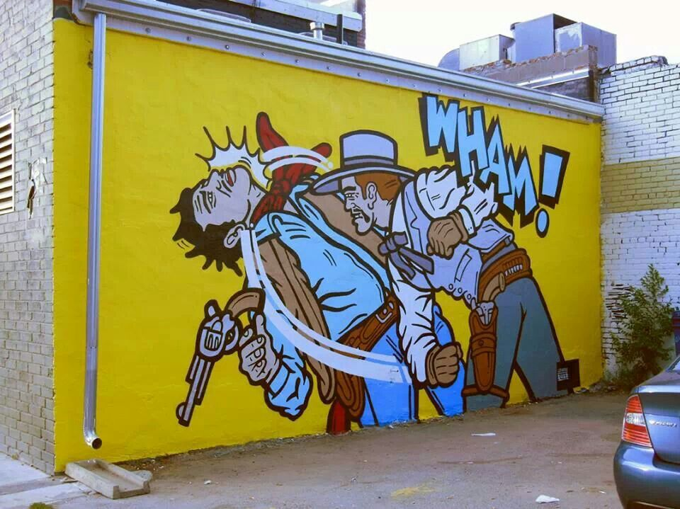 Mural for Wyatt at 27th and Larimer in Denver by local artist Scot ...