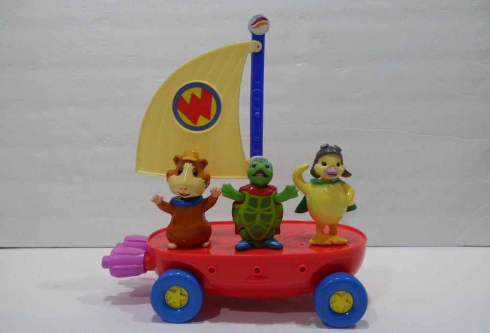 Wonder Pets Toy Lot Flyboat Boat Sounds Linny Tuck Ming Ming
