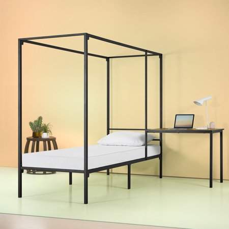 Home Canopy Bed Frame Bed Frame Full Size Canopy Bed