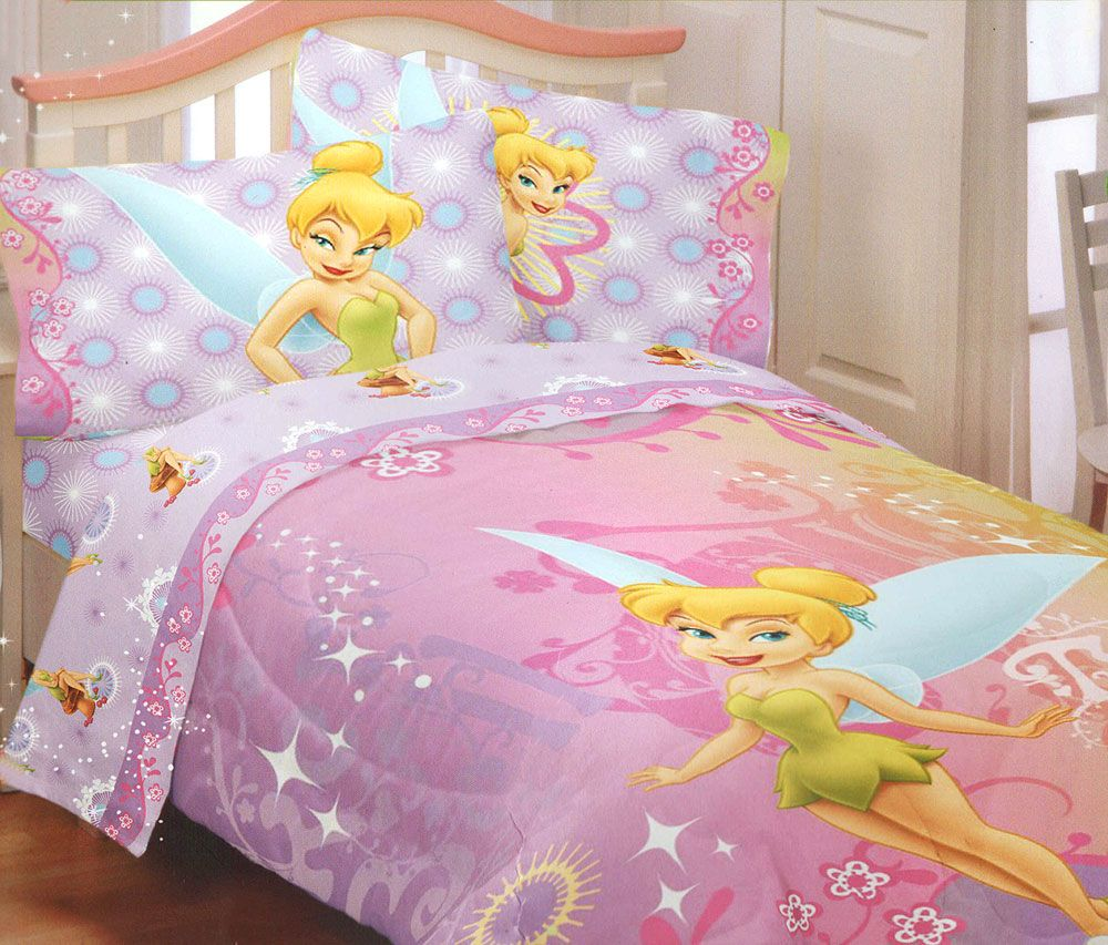 Tinkerbell Toddler Bedding Set