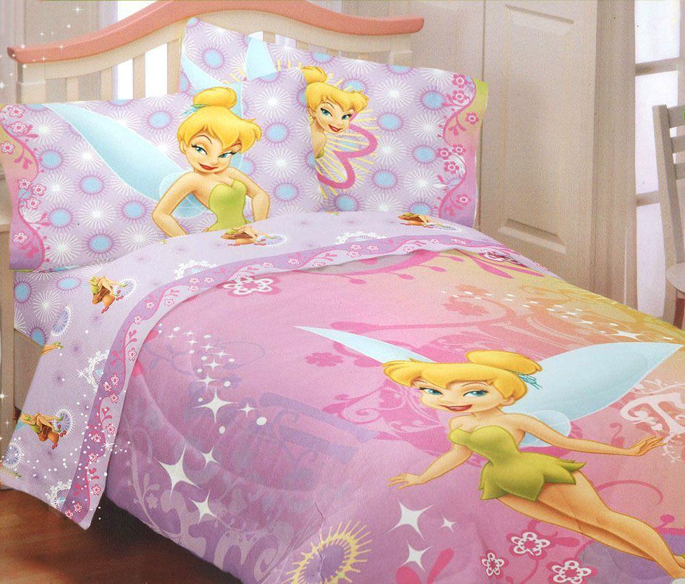 Tinkerbell Toddler Bedding Set Toddler Bed Set Toddler Bed