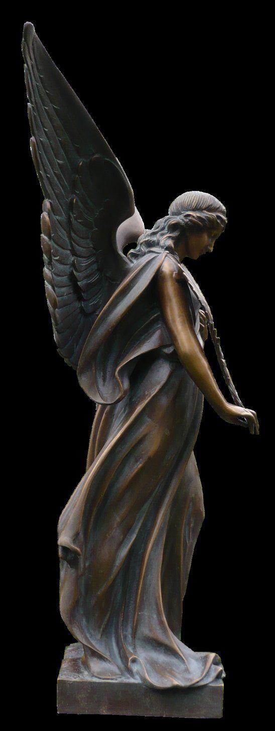 """ibarbouron-us: """" Ángel de bronce ……… ELLA Ciertamente ha sido tocado por la belleza . """""""