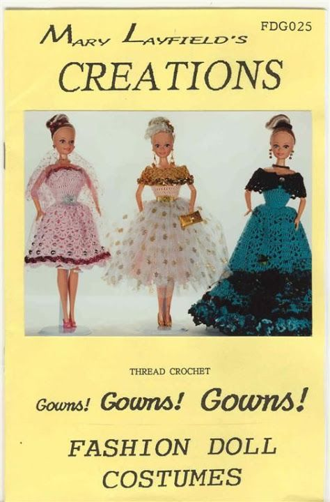Free Copy Of Crochet Pattern Gowns Gowns Gowns Bambole