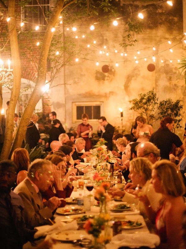 Victoria Jackson Location Wedding Wedding dinner