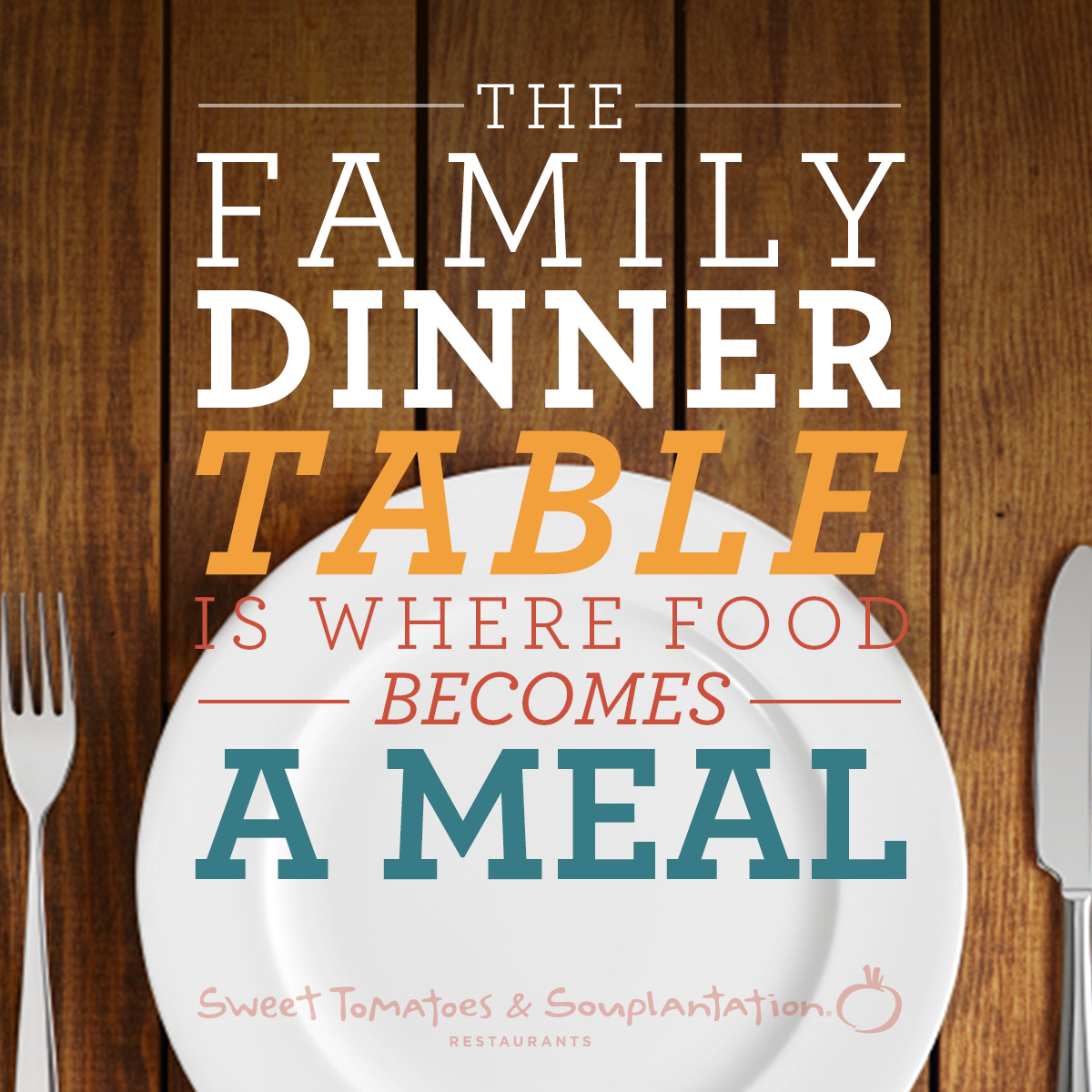 The family dinner table is where food becomes a meal for Table quotes