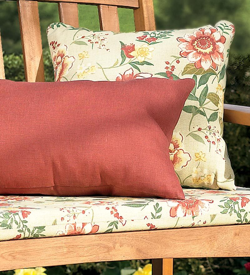 Weather Resistant Outdoor Classic Swing Bench Cushions Plow