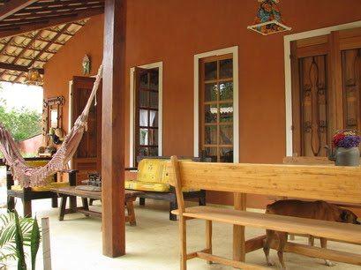98409 varanda casa de campo house pinterest mais for Modelos de casas medianas