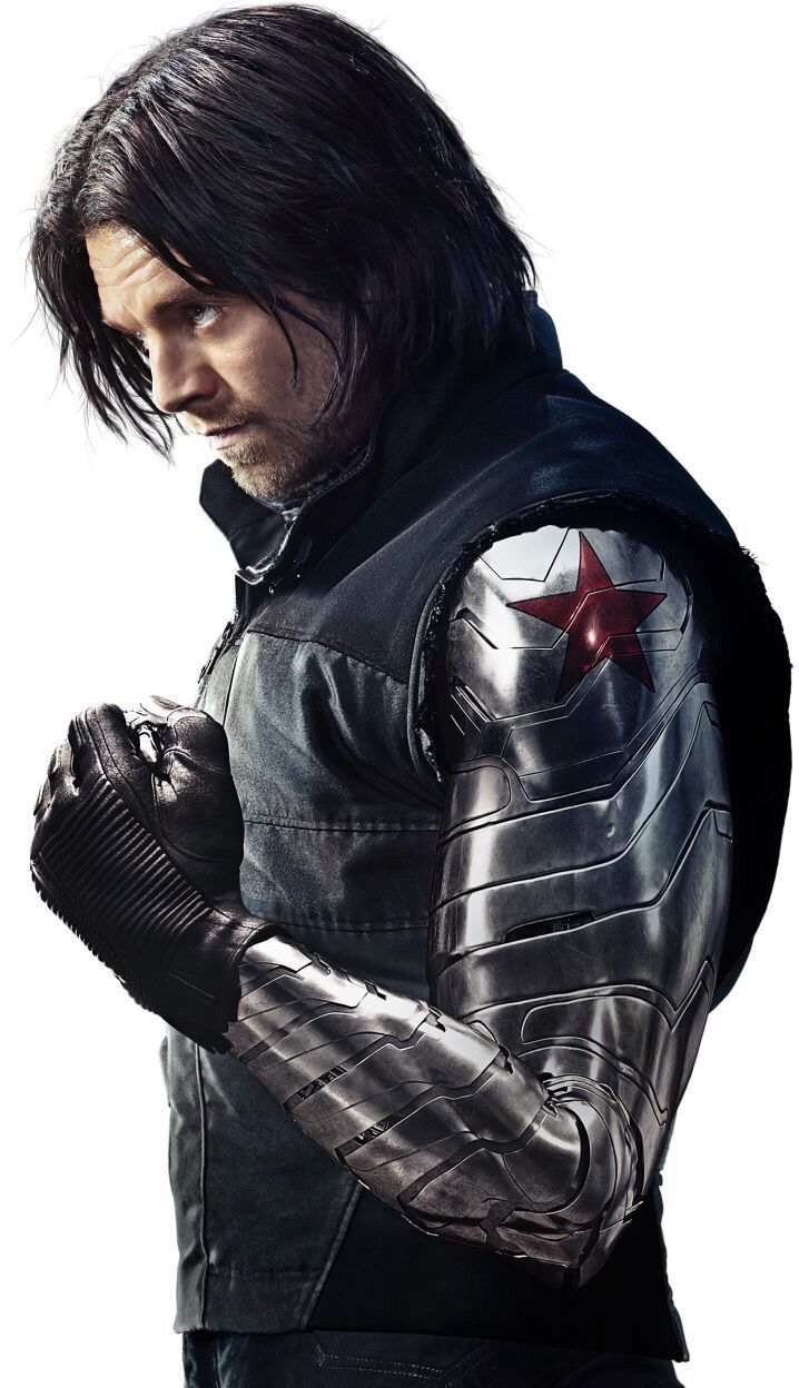 The Winter Soldier/Bucky | Marvel | Pinterest | Soldados, universo ...