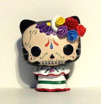 Tenacious Toys Blog: New Dia de Los Muertos Hello Kitty by