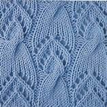 fishtail lace and cable knitting pattern - Yahoo Image ...