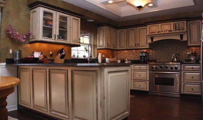 Kitchen Cabinets Helped Corel Refinishing Kitchen Cabinets