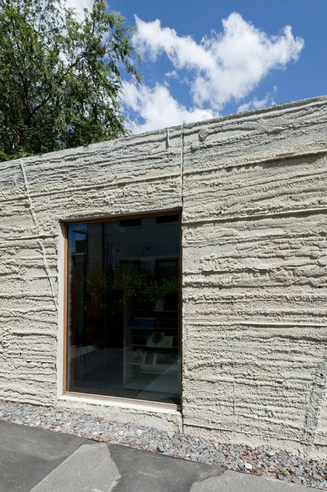 concrete texture - Nishi Sales Suite And Gallery / hungerford+edmunds, OCULUS
