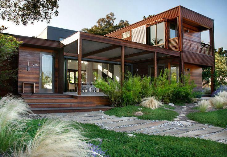 maison contemporaine en bois ARCHiTECTURESTRUCTURES Pinterest