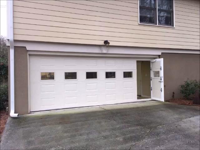 Walkthru Garage Door Video In 2020 Unique Garage Doors Garage Doors Garage Door Hinges